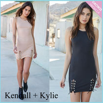 【Kendall + Kylie】新作! レースアップ ワンピース☆2色