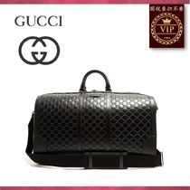 GUCCI(グッチ) ボストンバッグ ★2017新作★GG-debossed leather holdall