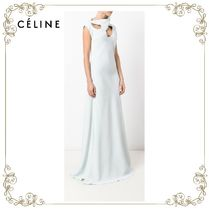 【17SS】大人気!!★CELINE★chest slits dress