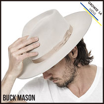 ハット ◎【BUCK MASON】アメリカ発☆The Silverbelly Holliday ハット