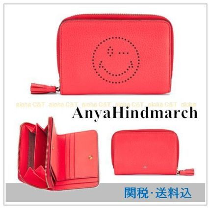 AnyaHindmarch Smiley compact wallet on into