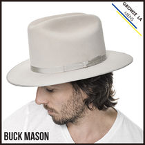 ハット ◎【BUCK MASON】アメリカ発☆The Silverbelly National ハット