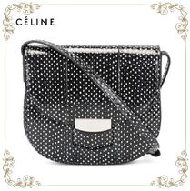 【17SS】大人気!!★CELINE★dots print shoulder bag