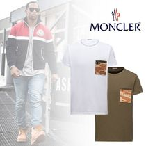 2017SS ◇ MONCLER ◇ プリントシンプル T シャツ / 2color