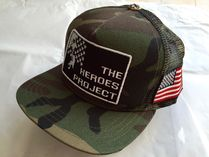 国内発送!! 大人気商品 TRUCKER CAP THE HEROS PROJECT