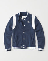 [送料無料] Abercrombie & Fitch  varsity fleece jacket