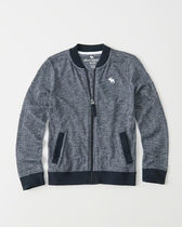 [送料無料] Abercrombie & Fitch  sweater knit bomber