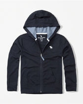 [送料無料] Abercrombie & Fitch  icon zip-up hoodie