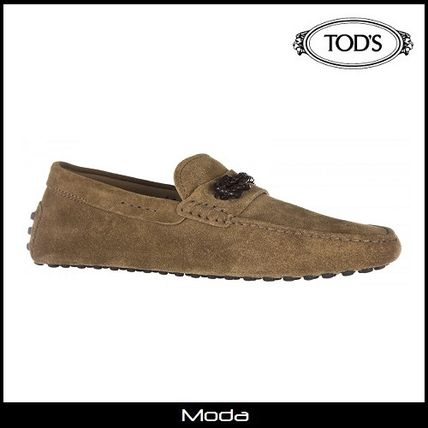 ★TOD'S★トッズモカシンスエードブラウン〈国内発送・関税無〉