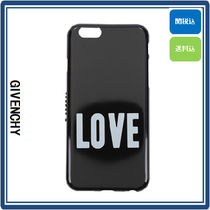 GIVENCHY 'LOVE' IPHONE CASE (BLACK/WHITE) 国内発送