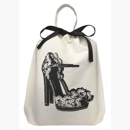 Bag-all NY from cotton Floral High Heels Organizing bag