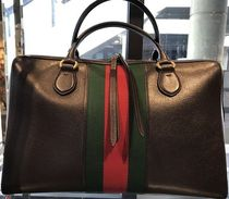 GUCCI 2016 Webby New Pigprint ウェブ トートバッグ★国内発送