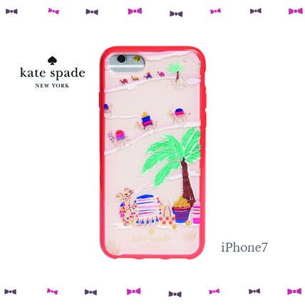 【Kate Spade】★iPhone7ケース★国内発送★砂漠のラクダ