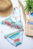 Triangle Fringe Bikini《MIX》No.41