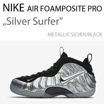 NIKE AIR FOAMPOSITE PRO SILVER/BLACK / フォーム ポジット