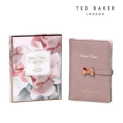 TED BAKER * travel pen with Passport case