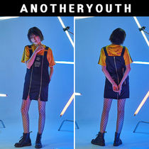 ANOTHERYOUTH(アナザーユース) ワンピース ANOTHERYOUTH★正規品★zipper one-piece★日本未入荷