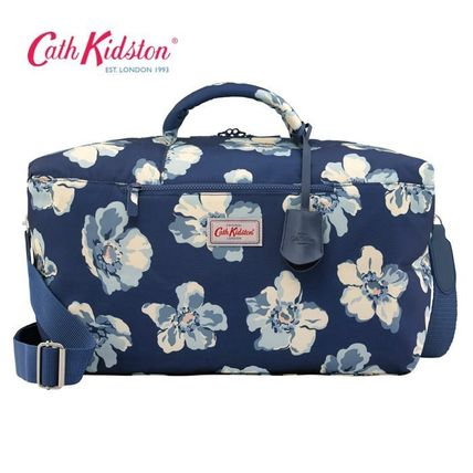 [Cath Kidston] マザーズ・トラベルバッグ SCATTERED ANEMONE