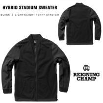 REIGNING CHAMP(レイニングチャンプ) ブルゾン REIGNING CHAMP《Hybrid Stadium Sweater》
