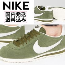 【送料込】Nike * Cortez Leather Trainers In Green *