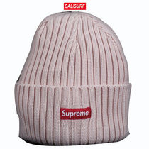 登坂くん着用!SS17 Supreme OVERDYED RIBBED BEANIE/WHITE