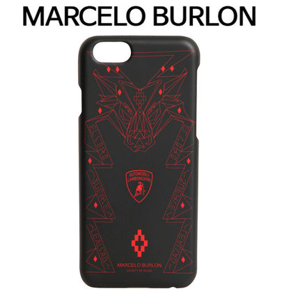 Marcelo Burlon iPhone・スマホケース Marcelo Burlon ★ LAMBORGHINI iPhone 7case