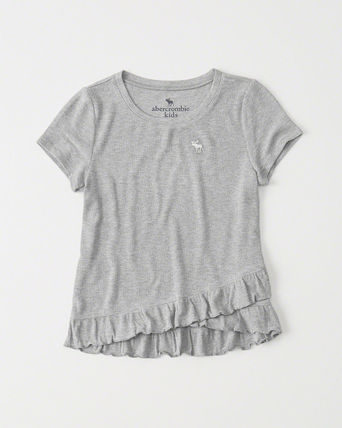 Abercrombie & Fitch トップス [送料無料] Abercrombie & Fitch  ruffle tee