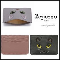 repetto(レペット) カードケース・名刺入れ 送料込/国内発送*repetto*カードケース 愛らしい猫♪3色