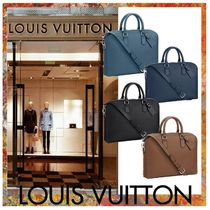 ★LOUIS VUITTON★ Victor レザーブリーフケース  4色