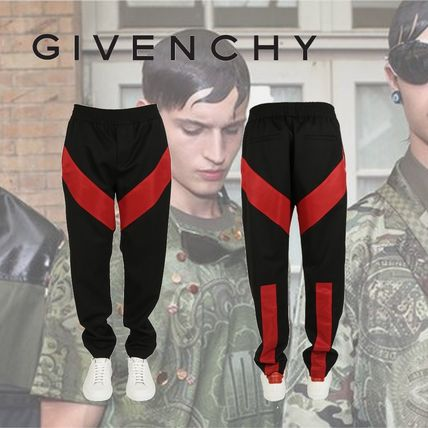 GIVENCHY Geometric Panel Trousers