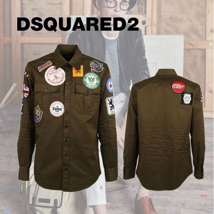 D SQUARED2 Multi Patch Shirt