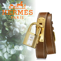 17SS HERMES(エルメス) Kelly PM 20 x 20mm 腕時計 Natural
