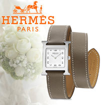 17SS HERMES(エルメス) Heure H MM 26 x 26mm 腕時計 etoupe