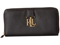 Ralph Lauren(ラルフローレン) 長財布 Ralph Lauren★Carrington Zip 長財布 Black