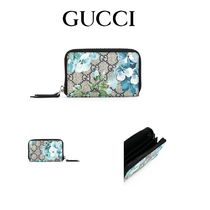 GUCCI(グッチ) コインケース・小銭入れ プレゼントに♪2017SS【GUCCI】GG Blooms Supreme wallet