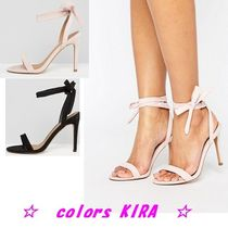 ASOS HENRIETTA Barely There Heeled Sandals♪2色