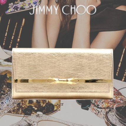 新作★【JIMMY CHOO】LYDIA ★VINTAGE EFFECT★2WAYクラッチ♪