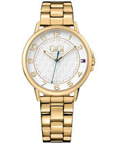 腕時計その他 Gigi Hadid Gold-Tone Stainless Steel Bracelet Watch