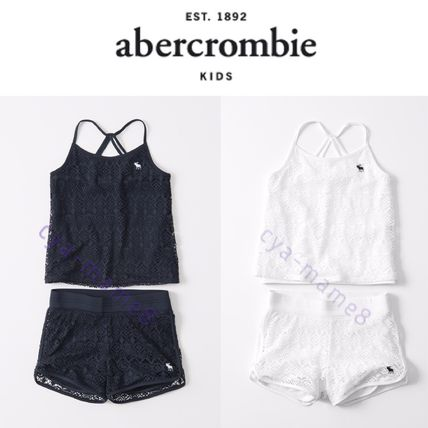Abercrombie & Fitch 水着・ビーチグッズ 国内発送【アバクロキッズガールズ】タンクとショーツセット水着
