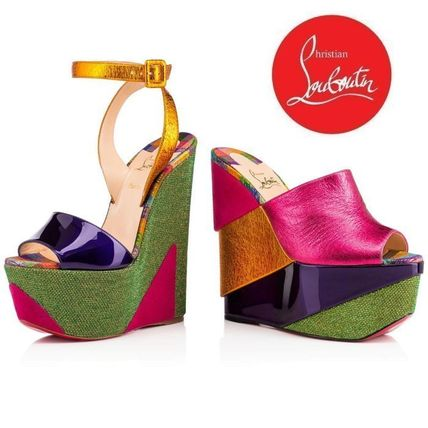[Christian Louboutin]★2017SS★Carnababe Veau Velours 150 mm