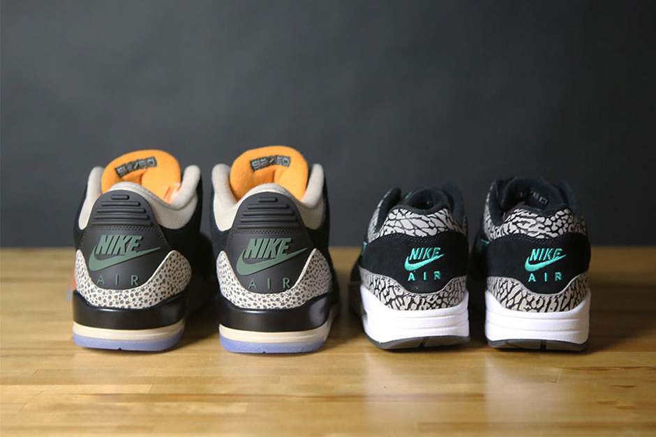 ★【NIKE】US8 26cm Air Max 1 Air Jordan 3 Atmos Safari Pack