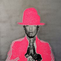 【SHANE BOWDEN】Pharrell x The Cat in the Hat  91x91cm