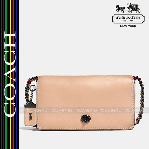 COACH★ディンキー☆DINKY IN COLORBLOCK MIXED MATERIALS 56263
