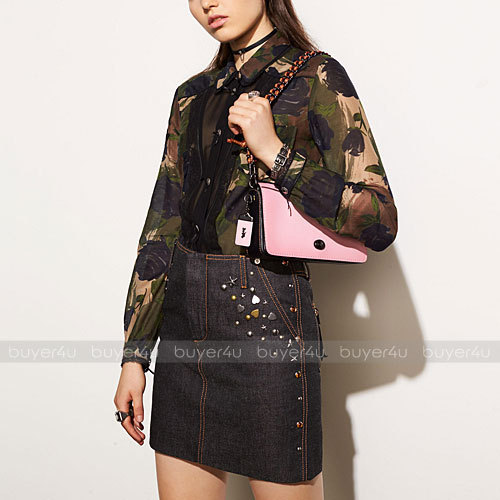 COACH★ディンキー DINKY COLORBLOCK GLOVETANNED LEATHER 59239