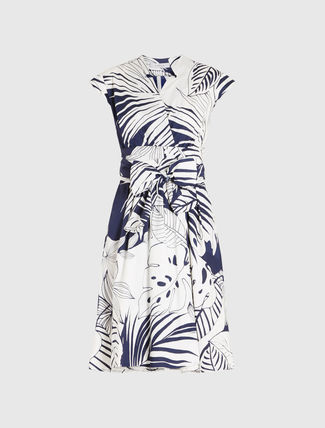 Marella MaxMara Poplin cotton wrap dress CLIPPER