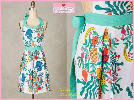 17th SS * Anthro Fruit Tree Apron