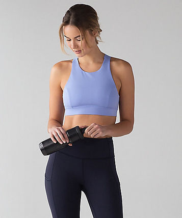 New![lululemon] Nulux素材のFast And Free Bra