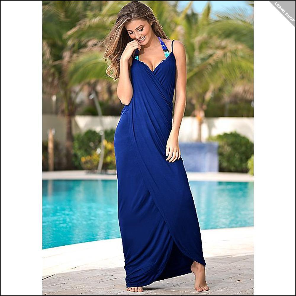 関税送料込☆Venus☆WRAP MAXI DRESS 5色