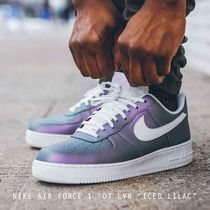 """NIKE AIR FORCE 1 '07 LV8 """"ICED LILAC"""" カメレオン"""