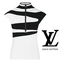 LOUIS VUITTON★black and white グラフィックモチーフトップス